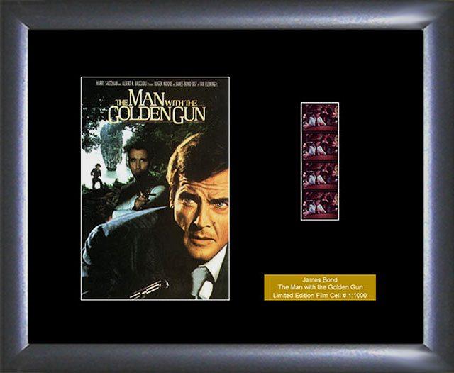 James Bond Man with The Golden Gun