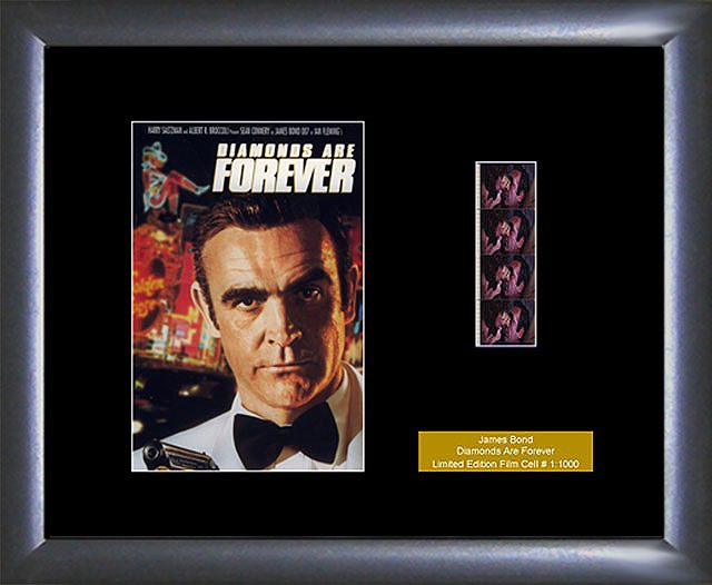 James Bond Diamonds are Forever