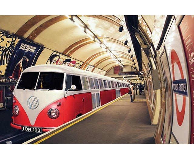 VW Camper : Tube