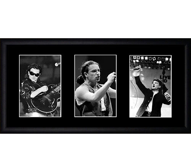 Bono / U2 framed photo