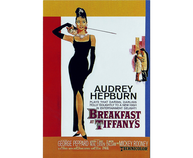 Breakfast at Tiffanys Postcard