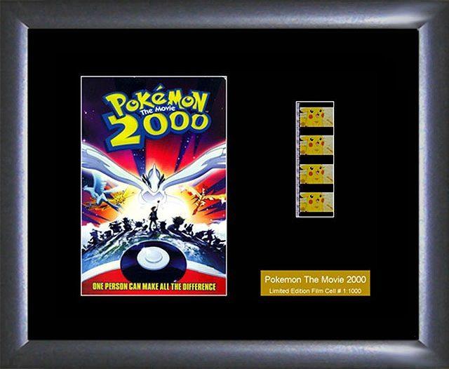 Pokemon The Movie 2000 Film Cell Collectible Memorabilia Limited