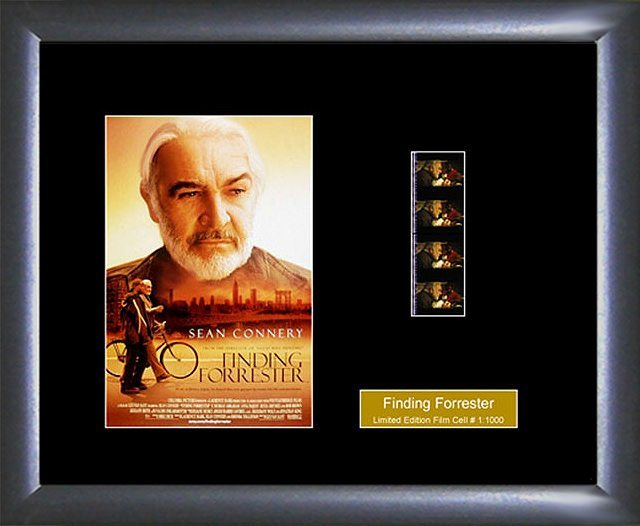 Finding Forrester Film Cell Limited Edition Collectible Memorabilia