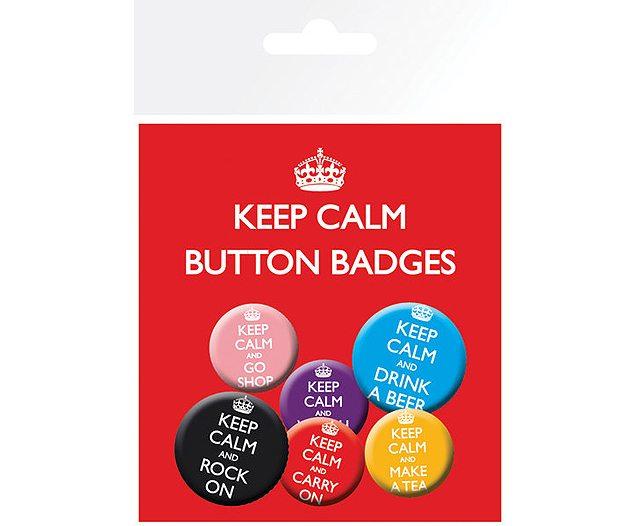 Keep Calm Badges