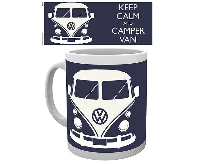 Keep Calm Camper Van