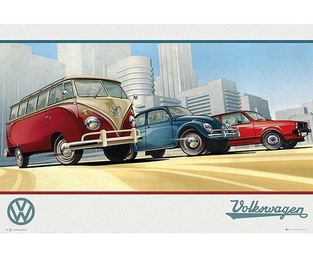 VW Camper - models