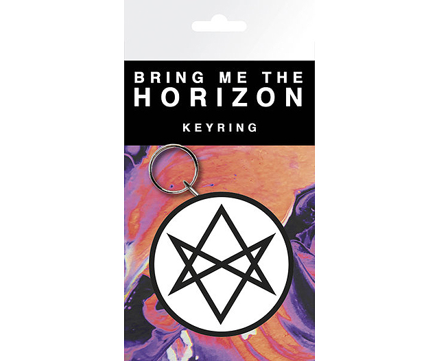 Bring Me The Horizon : logo - Rubber Keyring - Go Memorabilia