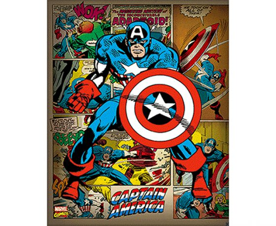 Captain America 3D