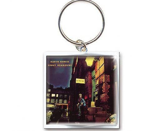 David Bowie Ziggy Keyring
