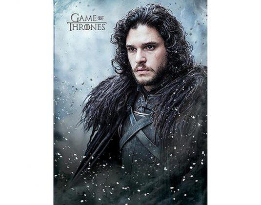 Game of Thrones Jon Snow Postcard