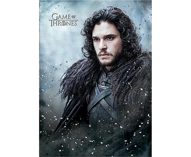 Game of Thrones Jon Snow Postcard