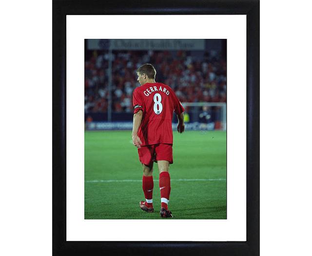 Steven Gerrard Framed Photo