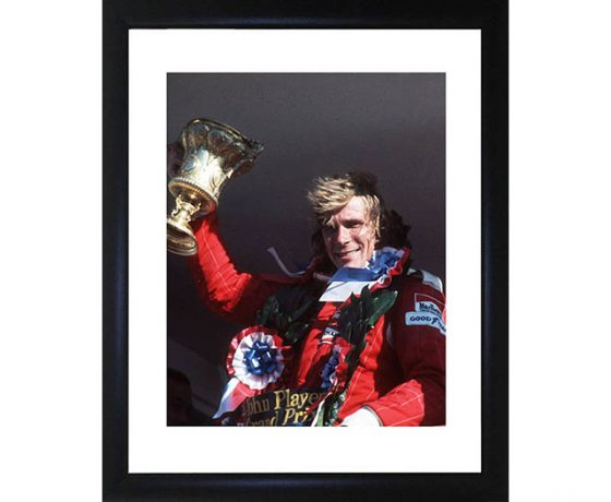James Hunt Framed Photo