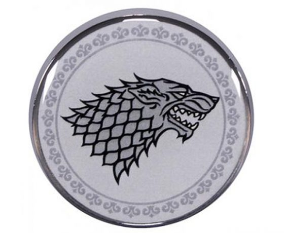Game of Thrones Stark Pin