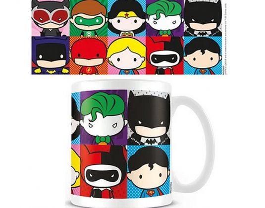 Justice League chibi mug