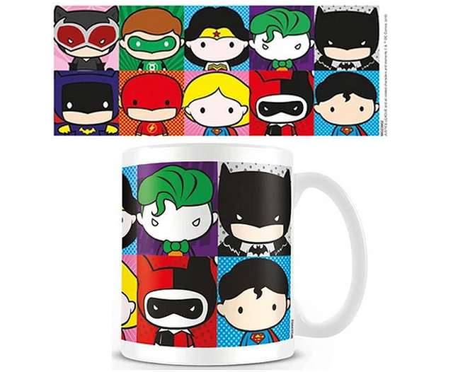 Justice League chibi mug