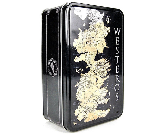 Game of Thrones storage tin