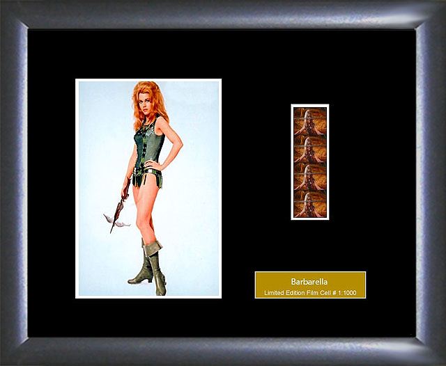 Barbarella Film cell